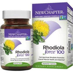 New Chapter, Rhodiola Force 100, 30 Veggie Caps