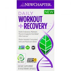 New Chapter, Daily Workout + Recovery, 30 Vegetarian Capsules Biografie, wspomnienia