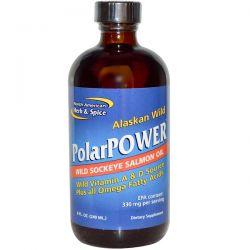 North American Herb & Spice Co., Alaskan Wild PolarPower, Wild Sockeye Salmon Oil, 8 fl oz (240 ml) Biografie, wspomnienia