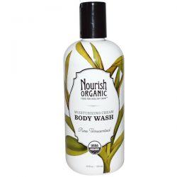 Nourish Organic, Body Wash, Pure Unscented, 10 fl oz (295 ml) Biografie, wspomnienia