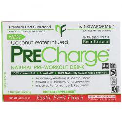 NovaForme, PreCharge, Natural Pre-Workout Drink, Exotic Fruit Punch, 0.35 oz (10 g) Biografie, wspomnienia
