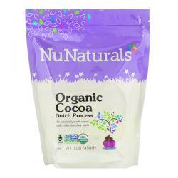 NuNaturals, Organic Cocoa Dutch Process Powder, 1 lb (454 g) Pozostałe