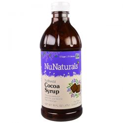 NuNaturals, NuStevia Cocoa Syrup, 16 fl oz (.47 l) Biografie, wspomnienia
