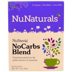 NuNaturals, NuStevia, No Carbs Blend, 50 Packets, 1 oz (29 g) Pozostałe