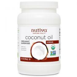 Nutiva, Organic Coconut Oil, Virgin, 15 fl oz (444 ml) Pozostałe