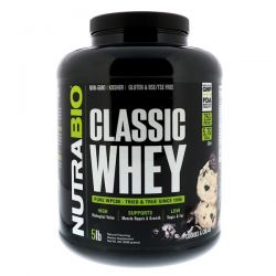 NutraBio Labs, Classic Whey Protein, Cookies & Cream, 5 lbs (2268 g) Biografie, wspomnienia