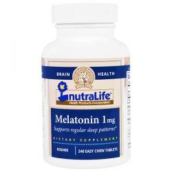 NutraLife, Melatonin, 1 mg, 240 Easy Chew Tablets Biografie, wspomnienia