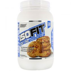 Nutrex Research, Isofit, Peanut Butter Toffee, 2.3 lbs (1026 g) Pozostałe