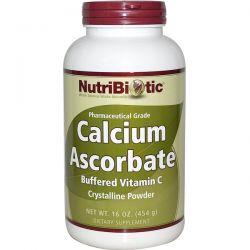 NutriBiotic, Calcium Ascorbate, Crystalline Powder, 16 oz (454 g) Pozostałe