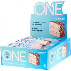 Oh Yeah!, One Bar, Birthday Cake, 12 Bars, 2.12 oz (60 g) Each Biografie, wspomnienia
