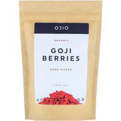 Ojio, Organic Goji Berries, Hand Picked, 8 oz (227 g) Pozostałe
