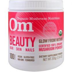 OM Organic Mushroom Nutrition, Beauty, Mushroom Powder, 7.14 oz (200 g) Biografie, wspomnienia