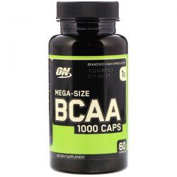 Optimum Nutrition, BCAA 1000 Caps, Mega-Size, 1 g, 60 Capsules Pozostałe