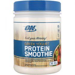Optimum Nutrition, Greek Yogurt, Protein Smoothie, Strawberry, 1.02 lb (462 g) Biografie, wspomnienia