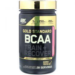 Optimum Nutrition, Gold Standard, BCAA Train + Recover, Watermelon, 9.9 oz (280 g) Biografie, wspomnienia