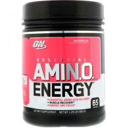 Optimum Nutrition, Essential Amin.O. Energy, Watermelon, 1.29 lb (585 g) Pozostałe