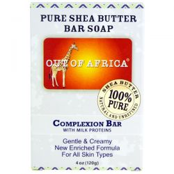 Out of Africa, Pure Shea Butter Bar Soap, Complexion Bar, 4 oz (120 g) Biografie, wspomnienia