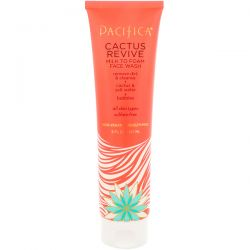 Pacifica, Cactus Revive Milk to Foam Face Wash, 5 fl oz (147 ml)
