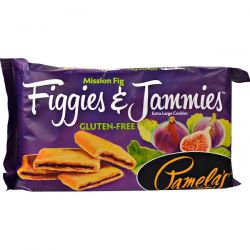 Pamela's Products, Figgies & Jammies, Extra Large Cookies, Mission Fig, 9 oz (255 g)