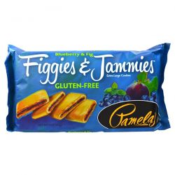 Pamela's Products, Figgies & Jammies, Extra Large Cookies, Blueberry & Fig, 9 oz (255 g)