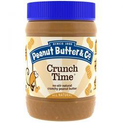 Peanut Butter & Co., Crunch Time, Crunchy Peanut Butter, 16 oz (454 g) Biografie, wspomnienia