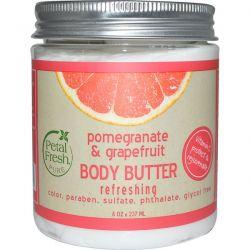 Petal Fresh, Pure, Body Butter, Refreshing, Pomegranate & Grapefruit, 8 oz (237 ml)