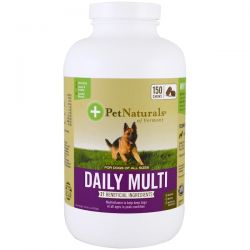 Pet Naturals of Vermont, Daily Multi, For Dogs, 150 Chews Pozostałe