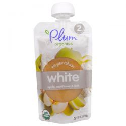 Plum Organics, Stage 2, Eat Your Colors, White, Apple, Cauliflower & Leek, 3.5 oz  (99 g) Biografie, wspomnienia