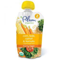 Plum Organics, Organic Baby Food, Stage 2, Hearty Veggie, Corn, Kale, Carrot & Tomato, 3.5 oz (99 g) Biografie, wspomnienia