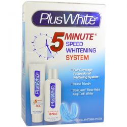Plus White, 5 Minute Premier Whitening System, 3 Piece Whitening Kit