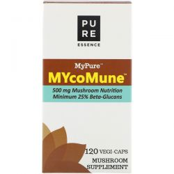 Pure Essence, MyPure, MYcoMune, 120 Vegi-Caps