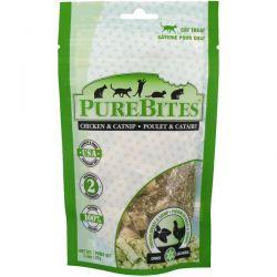 Pure Bites, Freeze Dried, Cat Treats, Chicken Breast & Catnip, 1.3 oz (37 g)