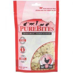 Pure Bites, Freeze Dried, Cat Treats, Chicken Breast, 2.32 oz (66 g)