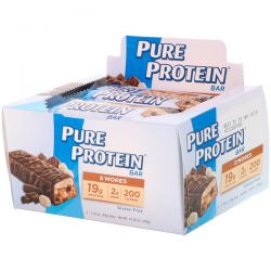 Pure Protein, S'mores Bar, 6 Bars, 1.76 oz (50 g) Each Biografie, wspomnienia