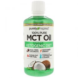 Purely Inspired, 100% Pure MCT Oil, 32 fl oz (950 ml)