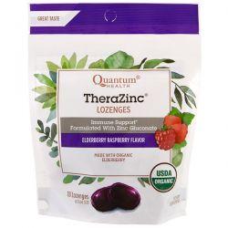 Quantum Health, TheraZinc, Lozenges, Elderberry Raspberry Flavor , 18 Lozenges Biografie, wspomnienia