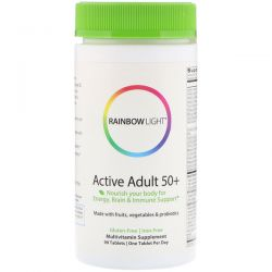 Rainbow Light, Active Adult 50+, 90 Tablets