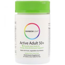 Rainbow Light, Active Adult 50+ , 30 Tablets