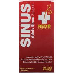 Redd Remedies, Sinus, Adult Sinus Support, 100 Tablets Biografie, wspomnienia
