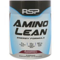 RSP Nutrition, Amino Lean Energy Formula, Blackberry Pomegranate, 8.25 oz (234 g)