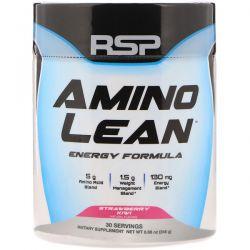 RSP Nutrition, Amino Lean Energy Formula, Strawberry Kiwi,  8.68 oz (246 g)