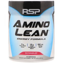 RSP Nutrition, Amino Lean Energy Formula, Watermelon, 8.25 oz (234 g)