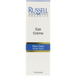Russell Organics, Eye Cream, 1 fl oz (30 ml) Biografie, wspomnienia