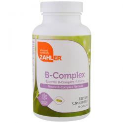 Zahler, B-Complex, Essential B-Complex Nutrients, 90 Capsules