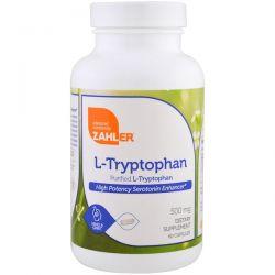 Zahler, L-Tryptophan, Purified L-Tryptophan, 500 mg, 60 Capsules Biografie, wspomnienia