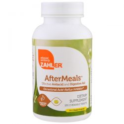 Zahler, AfterMeals, Effective Antiacid and Digestive Aid, 100 Chewable Tablets Biografie, wspomnienia