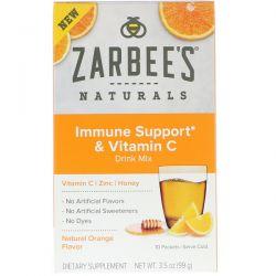 Zarbee's, Immune Support & Vitamin C Drink Mix, Natural Orange Flavor, 10 Packets, 3.5 oz (99 g) Biografie, wspomnienia