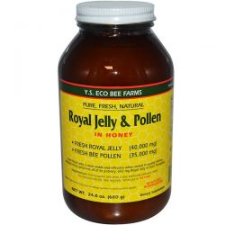 Y.S. Eco Bee Farms, Royal Jelly & Pollen, in Honey, 24 oz (680 g) Biografie, wspomnienia