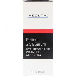 Yeouth, Retinol, 2.5% Serum, 1 fl oz (30 ml)