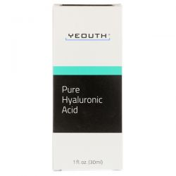 Yeouth, Pure Hyaluronic Acid, 1 fl oz (30 ml)
